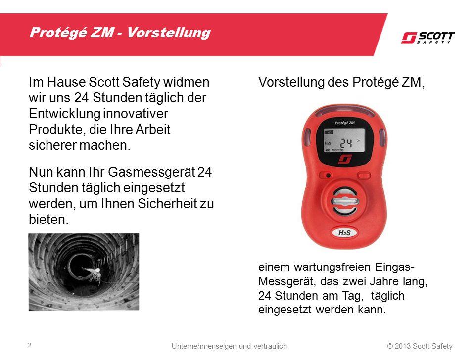 Worum handelt es sich bei Protégé ZM.Das Protégé ZM ist ein wartungsfreies Eingas- Messgerät.