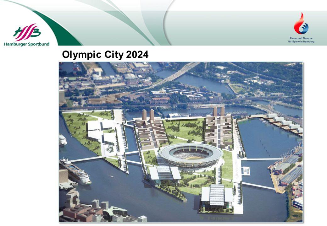 ●Spiele im Herzen der Stadt ●Nachhaltigkeit und Stadtentwicklung ●Kurze Wege im zentralen Olympischen Bereich ●Nachnutzungskonzepte für alle Sportstätten ●Umsetzung der IOC-Agenda 2020 Das Bewerbungskonzept: