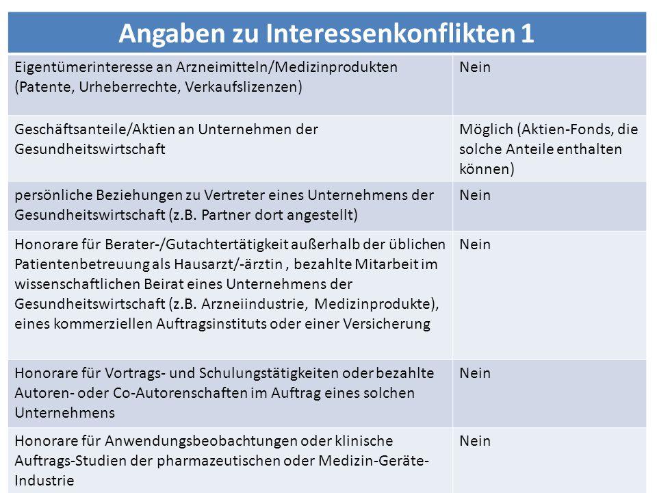 HADS-D = Hospital-Anxiety- Depression-Scale Zigmond and Snaith 1983 Herrmann et al., Deutsche Version 1995