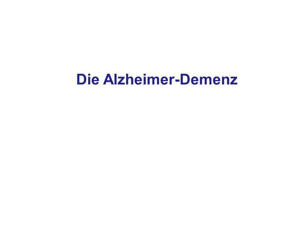Die Alzheimer-Demenz