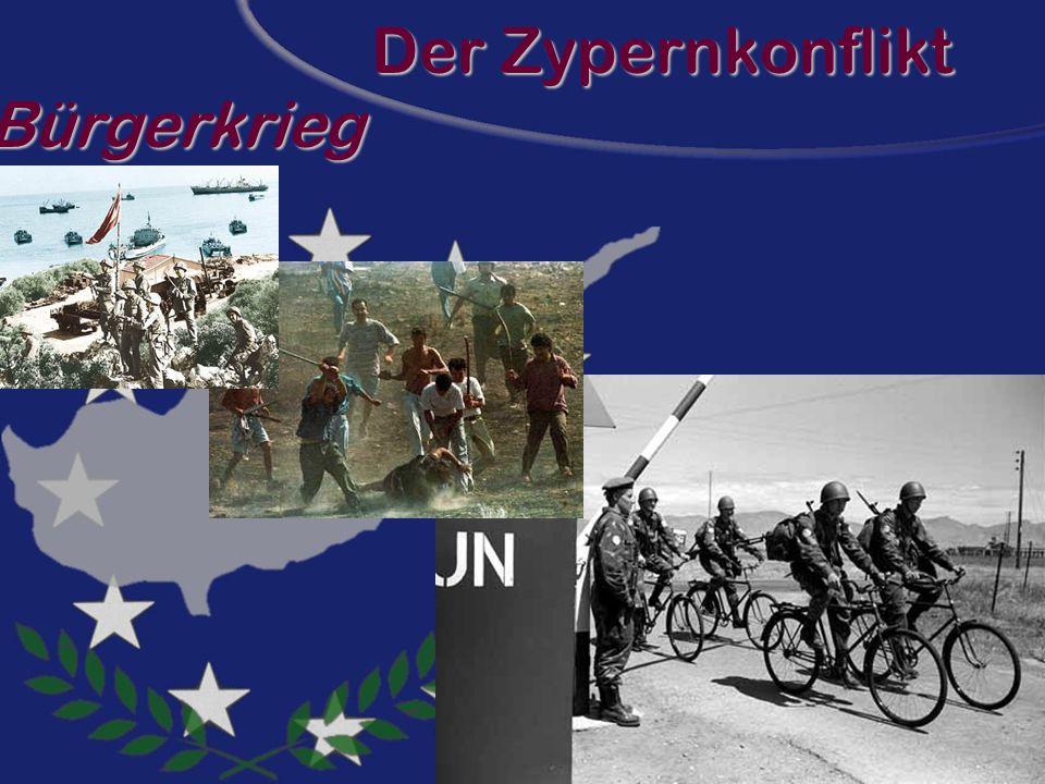 Der Zypernkonflikt Bürgerkrieg