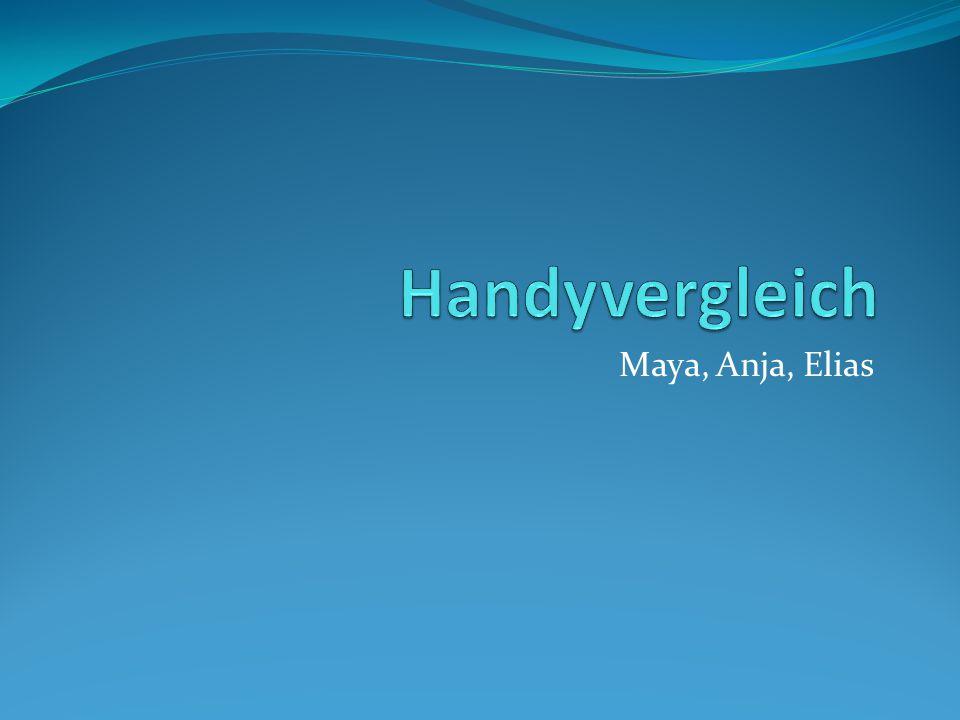 Maya, Anja, Elias