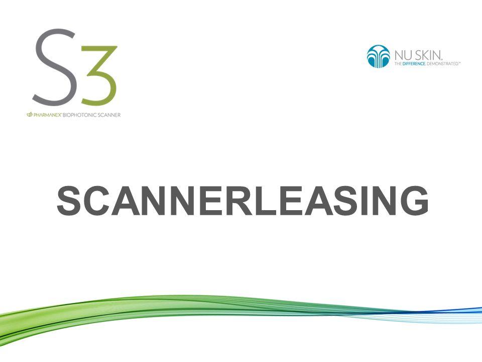 Scannervereinbarung Der BioPhotonic Scanner ist patentiert und gehört Pharmanex.