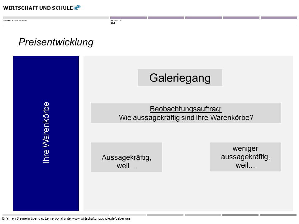 WIRTSCHAFT UND SCHULE UNTERRICHTSMATERIALIENHAUSHALT & GELD Erfahren Sie mehr über das Lehrerportal unter www.wirtschaftundschule.de/ueber-uns 9 Ihre