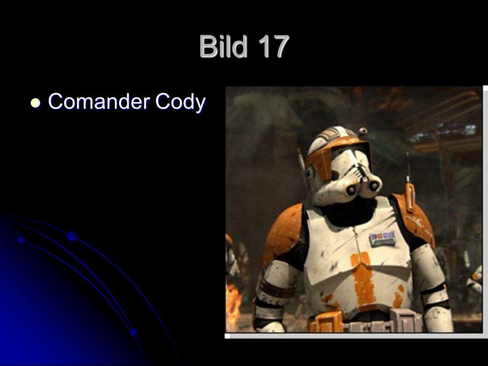 Bild 17 Comander Cody Comander Cody