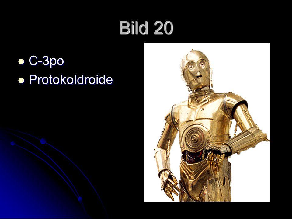 Bild 20 C-3po C-3po Protokoldroide Protokoldroide