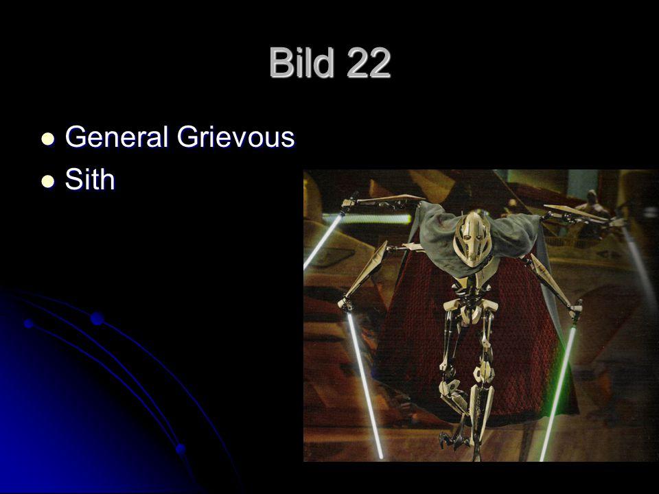 Bild 22 General Grievous General Grievous Sith Sith
