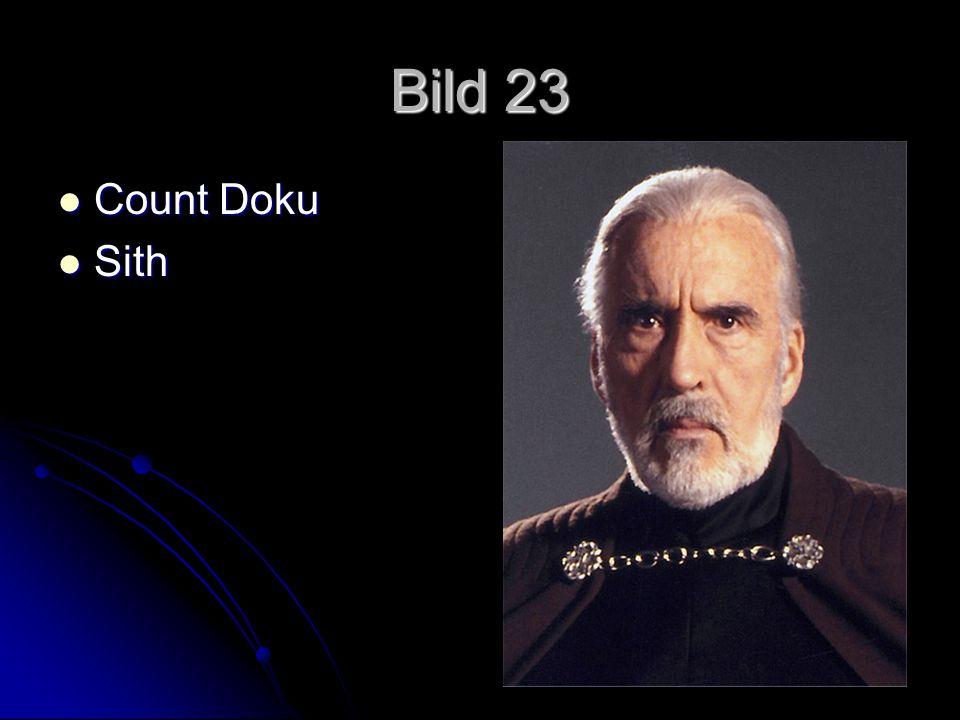 Bild 23 Count Doku Count Doku Sith Sith