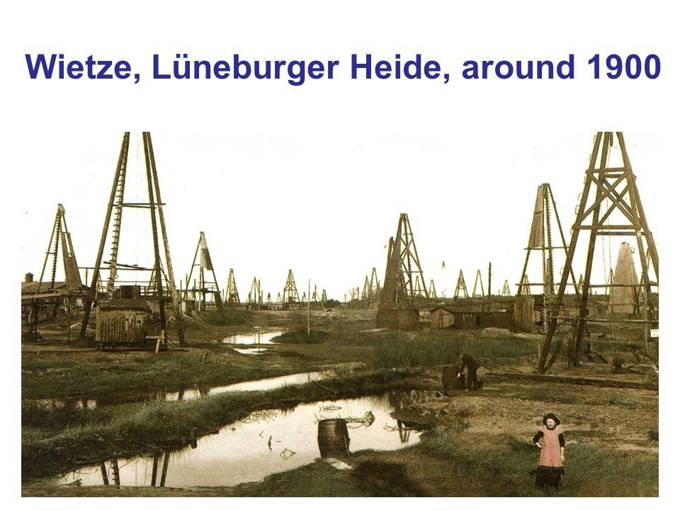 Wietze, Lüneburger Heide, around 1900