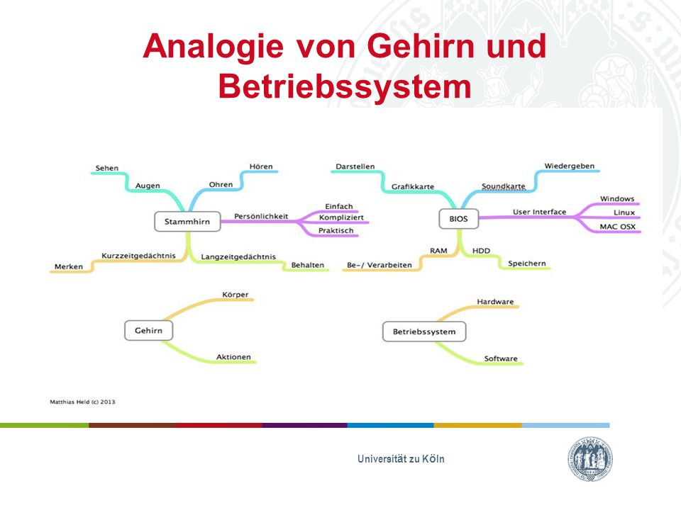Analogie von Gehirn und Betriebssystem Universität zu Köln