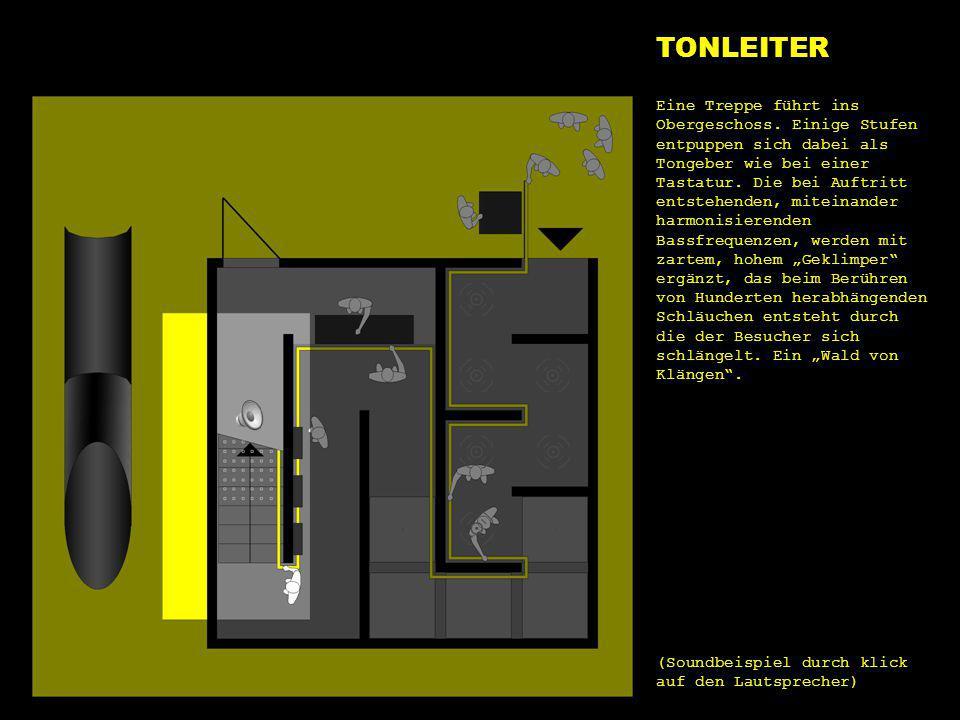 e1 tonleiter TONLEITER Eine Treppe führt ins Obergeschoss. Einige Stufen entpuppen sich dabei als Tongeber wie bei einer Tastatur. Die bei Auftritt en