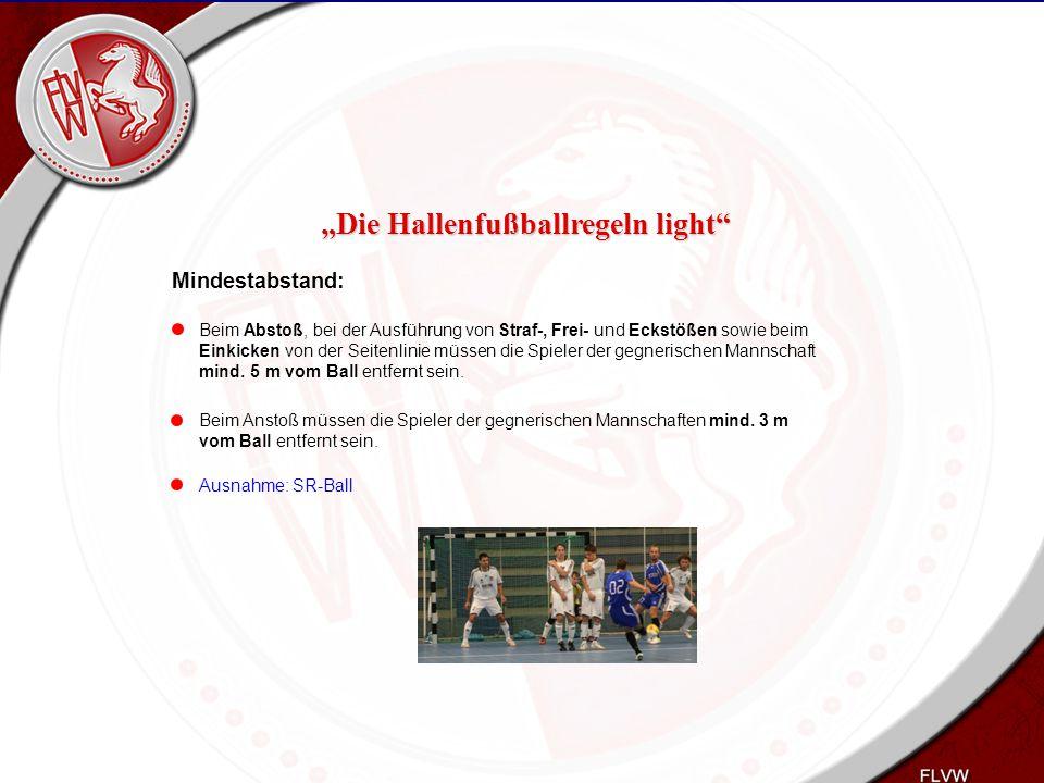 Heiko Schneider KSL Bochum FLVW Kreis Bochum www.kreis-bochum.de Mindestabstand: Beim Abstoß, bei der Ausführung von Straf-, Frei- und Eckstößen sowie