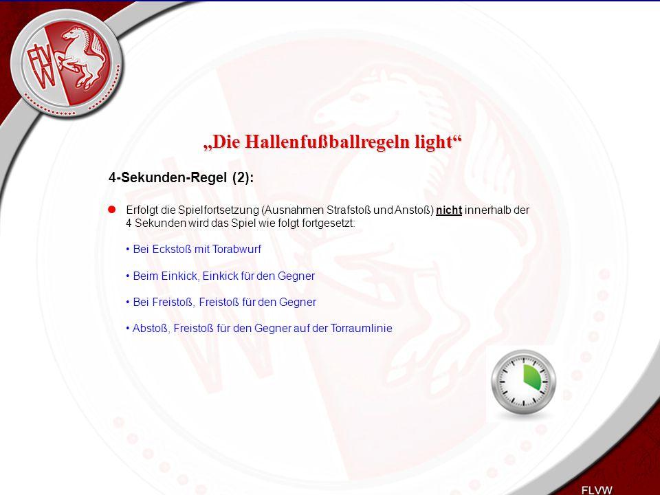 Heiko Schneider KSL Bochum FLVW Kreis Bochum www.kreis-bochum.de 4-Sekunden-Regel (2): Erfolgt die Spielfortsetzung (Ausnahmen Strafstoß und Anstoß) n