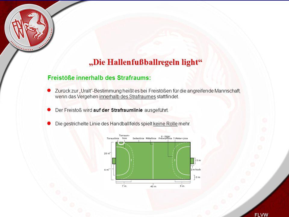 """Heiko Schneider KSL Bochum FLVW Kreis Bochum www.kreis-bochum.de Freistöße innerhalb des Strafraums: Zurück zur """"Uralt""""-Bestimmung heißt es bei Freist"""