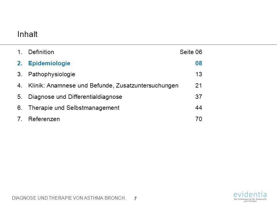 Diagnose und Differentialdiagnose 5.