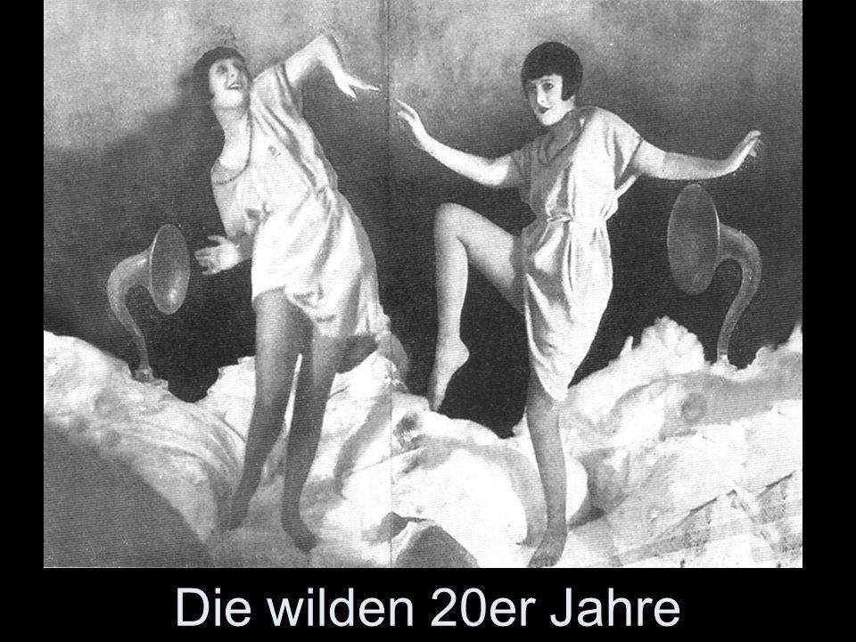 Die wilden 20er Jahre