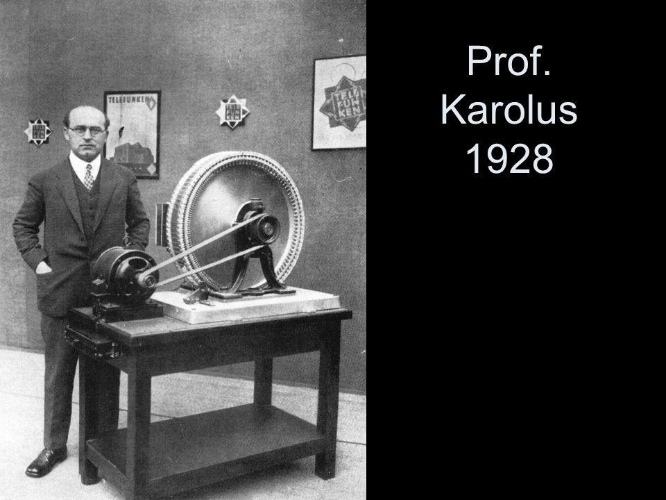 Prof. Karolus 1928