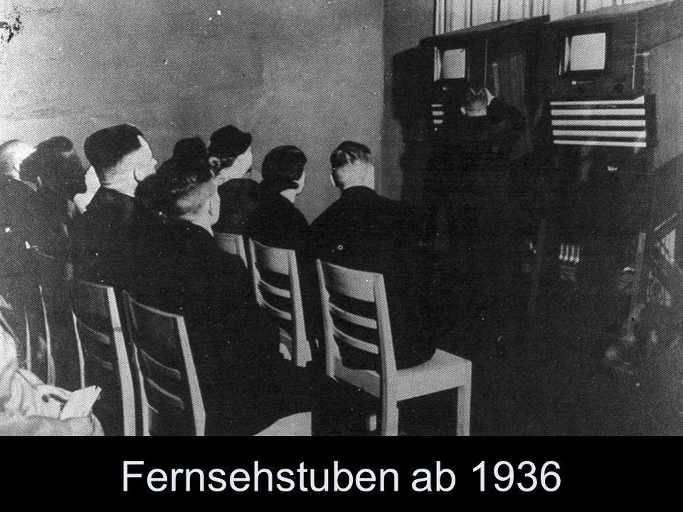 Fernsehstuben ab 1936
