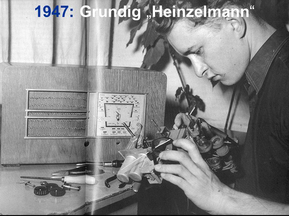 """1947: Grundig """"Heinzelmann"""""""