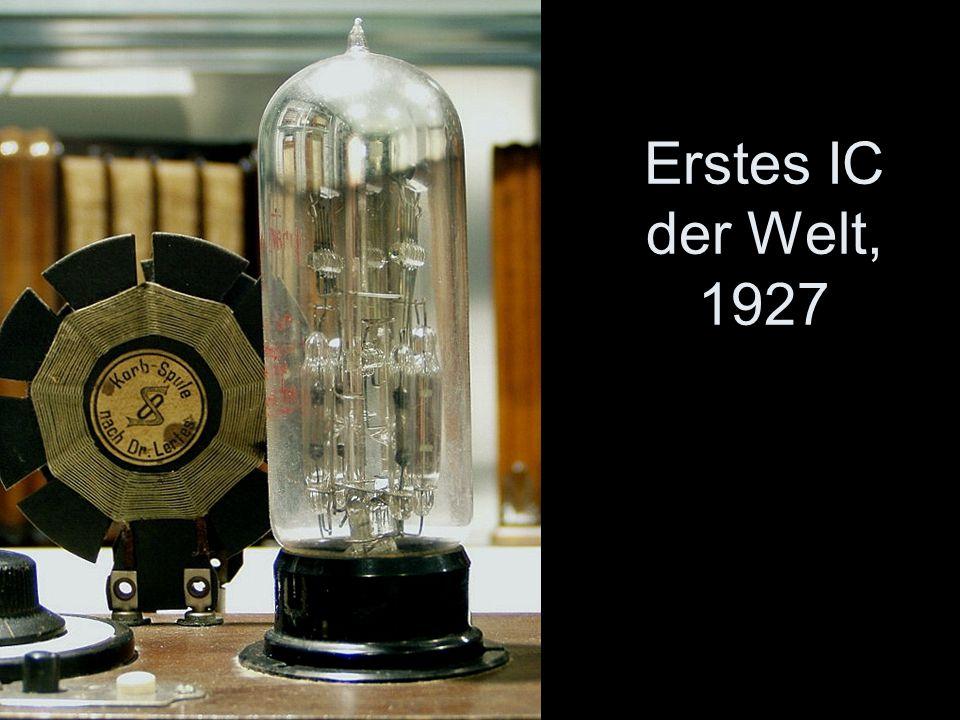 Erstes IC der Welt, 1927