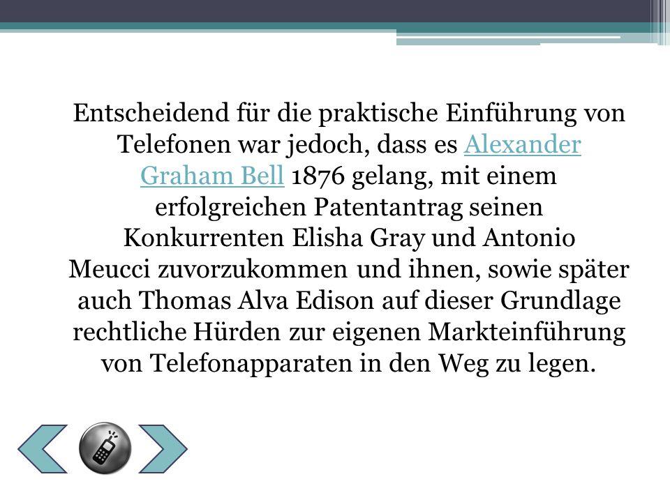 1879 erhielt Wilhelm Emil Fein ein Patent für ein Telefon mit Hufeisenmagnet und 1885 eine weiteres für ein militärisch genutztes Feldtelefon – dieses gilt als das erste tragbare Telefon der Welt.