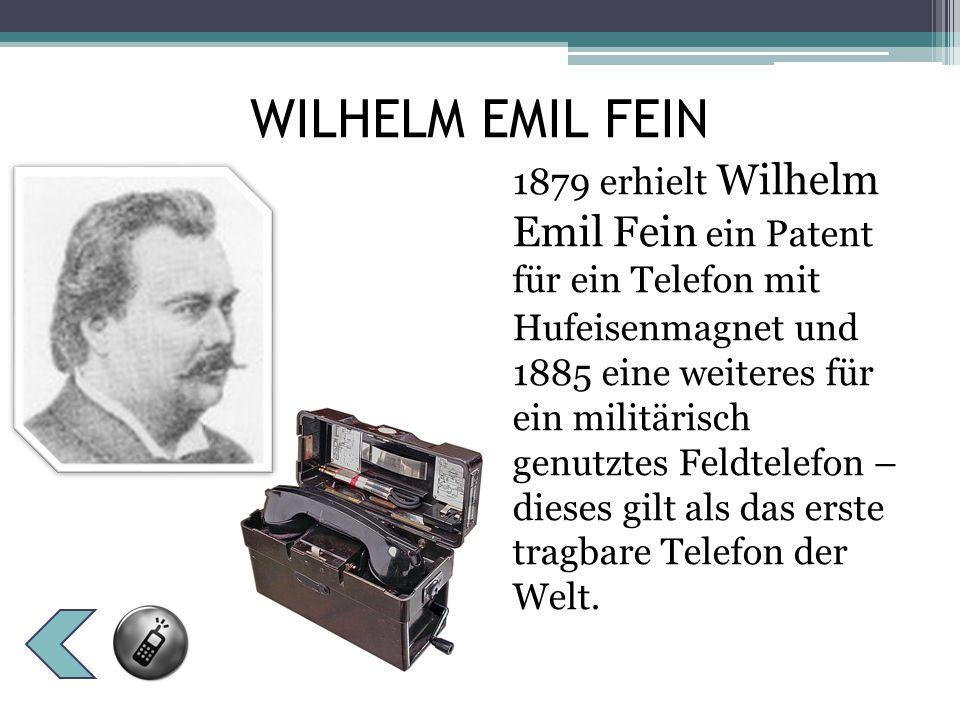 Obwohl Bell bei seinen Versuchen zufällig entdeckt haben soll, dass statt der erwarteten Telegraphen- impulse auch Tonfolgen übertragen werden konnten, gelang es ihm nicht, diese Entdeckung zu wiederholen.