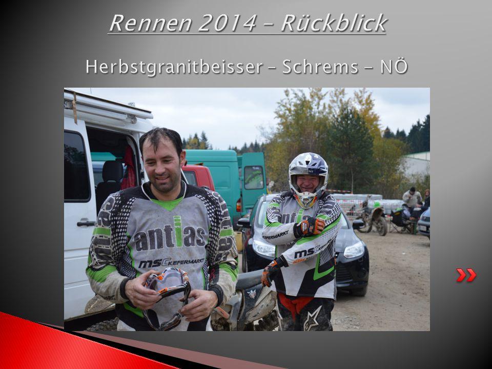 Rennen 2014 – Rückblick Herbstgranitbeisser – Schrems - NÖ