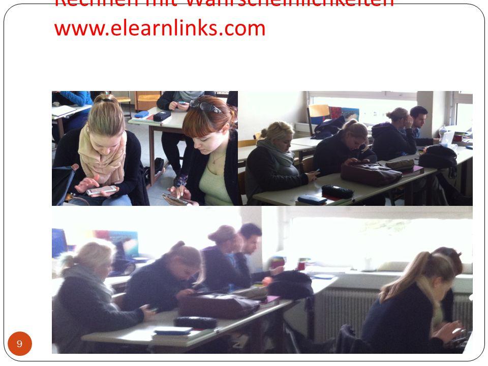 9 Rechnen mit Wahrscheinlichkeiten www.elearnlinks.com Mag. Ulrike Blanckenstein HLW19 Straßergasse 9