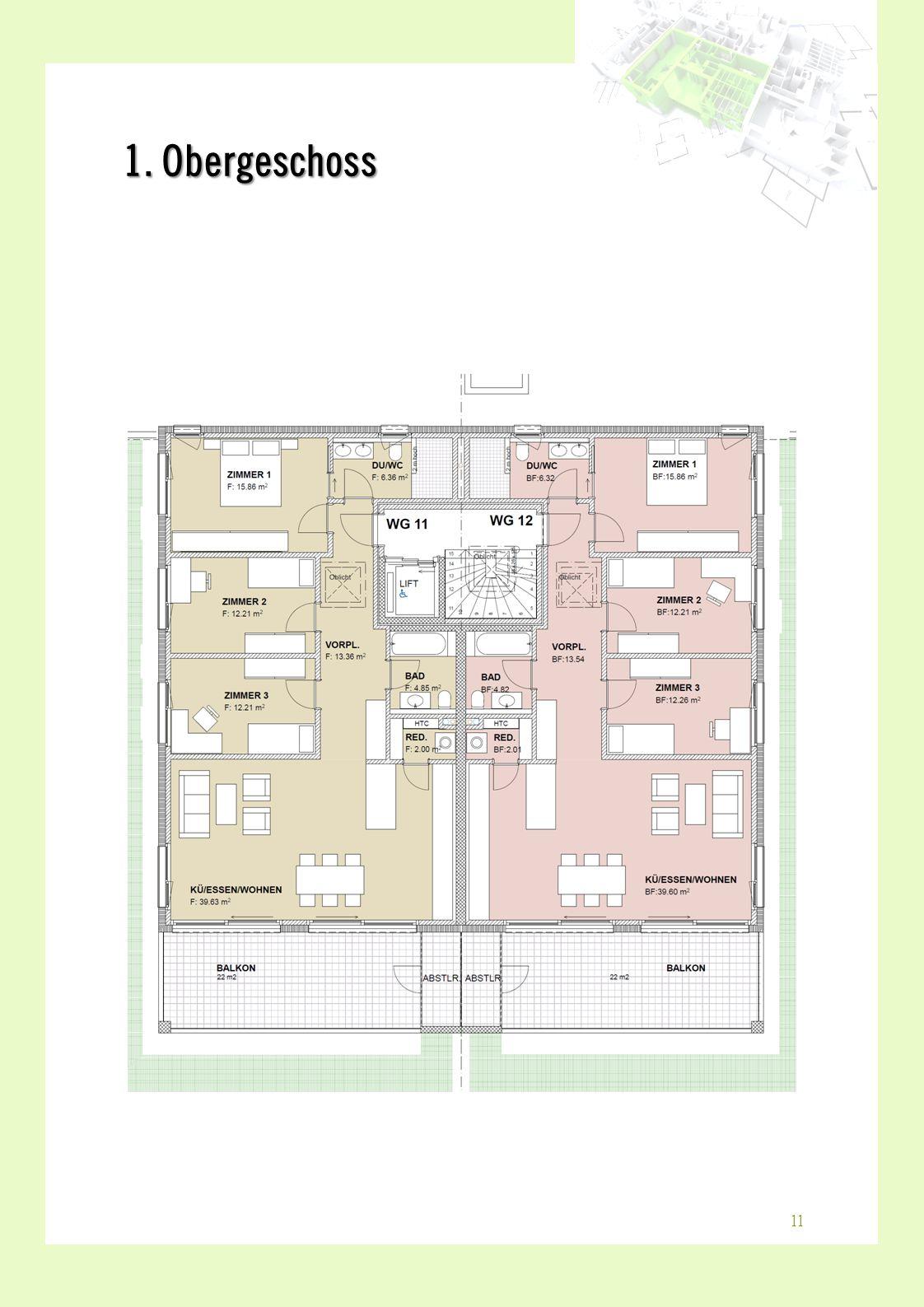 1. Obergeschoss 11