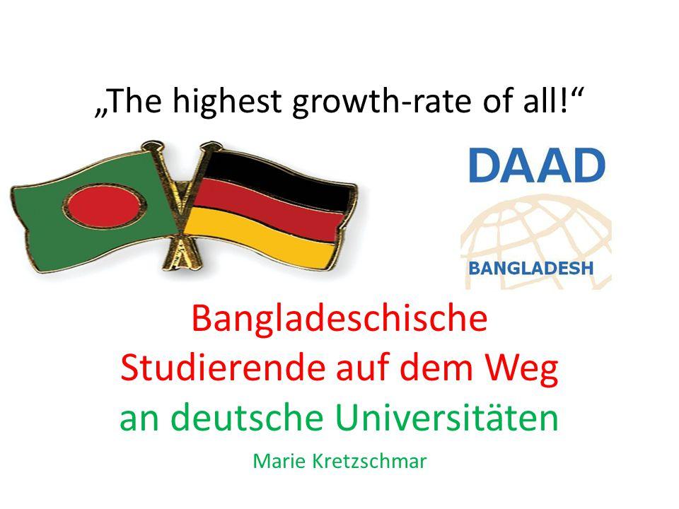Übersicht Länderübersicht Bangladesch Bildungssystem Beziehung zu Deutschland und der Run auf die deutschen Universitäten
