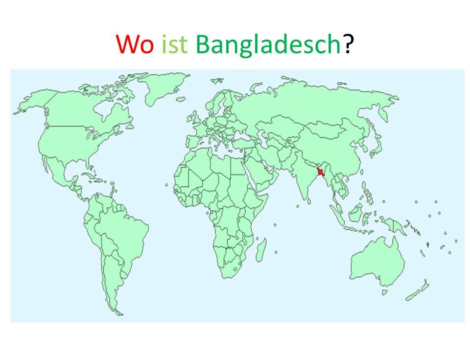 Wo ist Bangladesch
