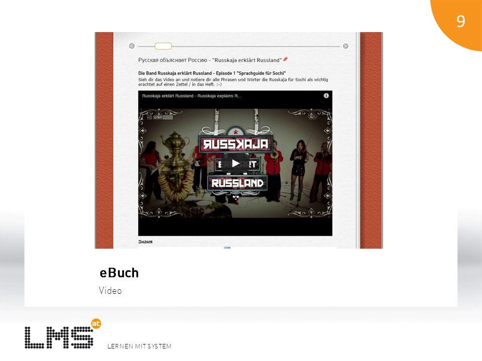 LERNEN MIT SYSTEM 9 eBuch Video 9