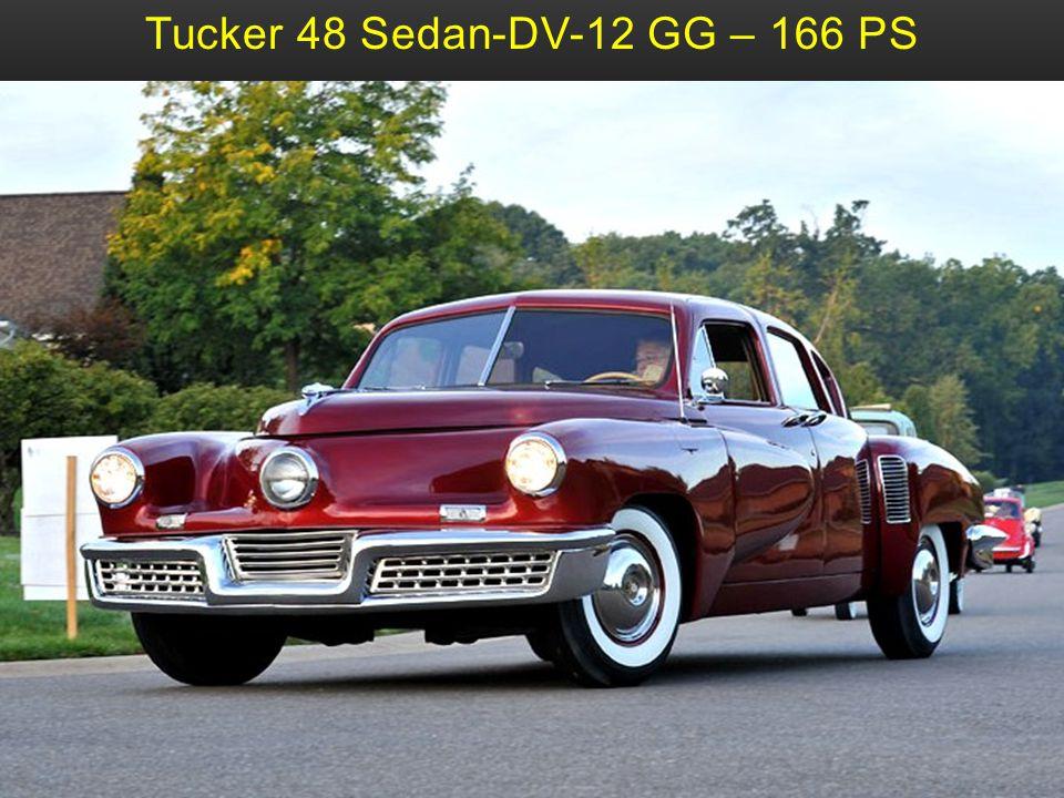 Tucker 48 Sedan-DV-12 GG – 166 PS