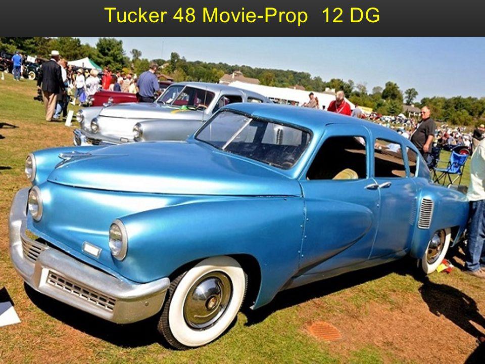 Tucker 48 Movie-Prop 12 DG