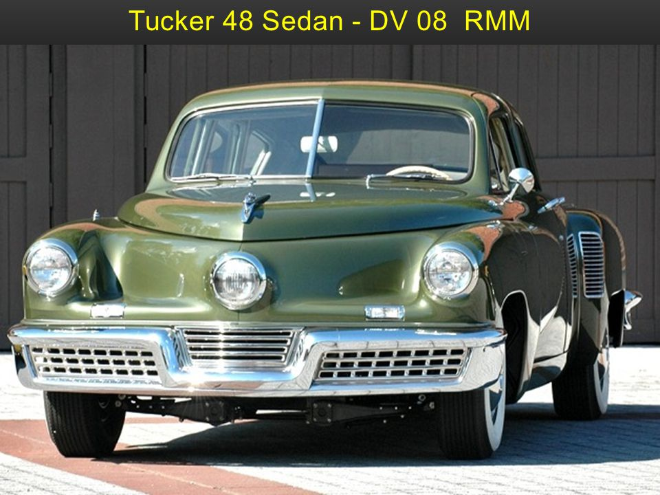Tucker 48 Movie-Prop 12 DG