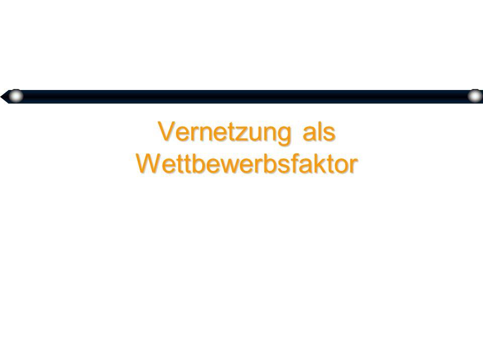 Vernetzung @ Standards @ Netzeffekte @ WettbewerbImplikationen @ Coopetition Prof.