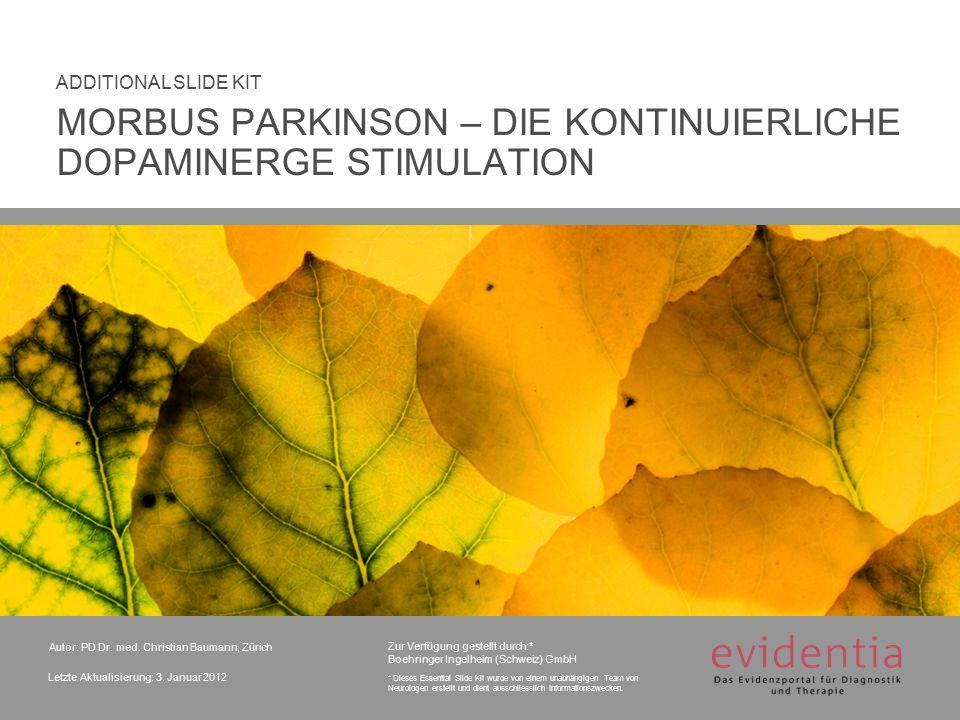 Zur Verfügung gestellt durch:* Boehringer Ingelheim (Schweiz) GmbH * Dieses Essential Slide Kit wurde von einem unabhängigen Team von Neurologen erste