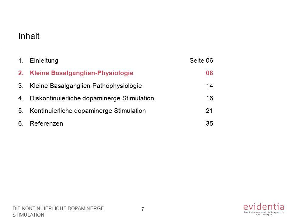 Kleine Basalganglien-Physiologie 2.