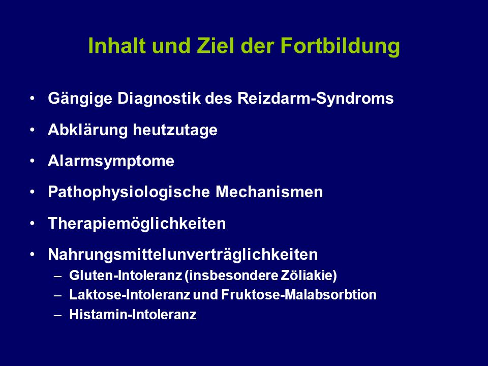 Pathophysiologie des RDS Viszerale Hyper- Sensitivität: Übermässige WN von Schmerzen Ev.