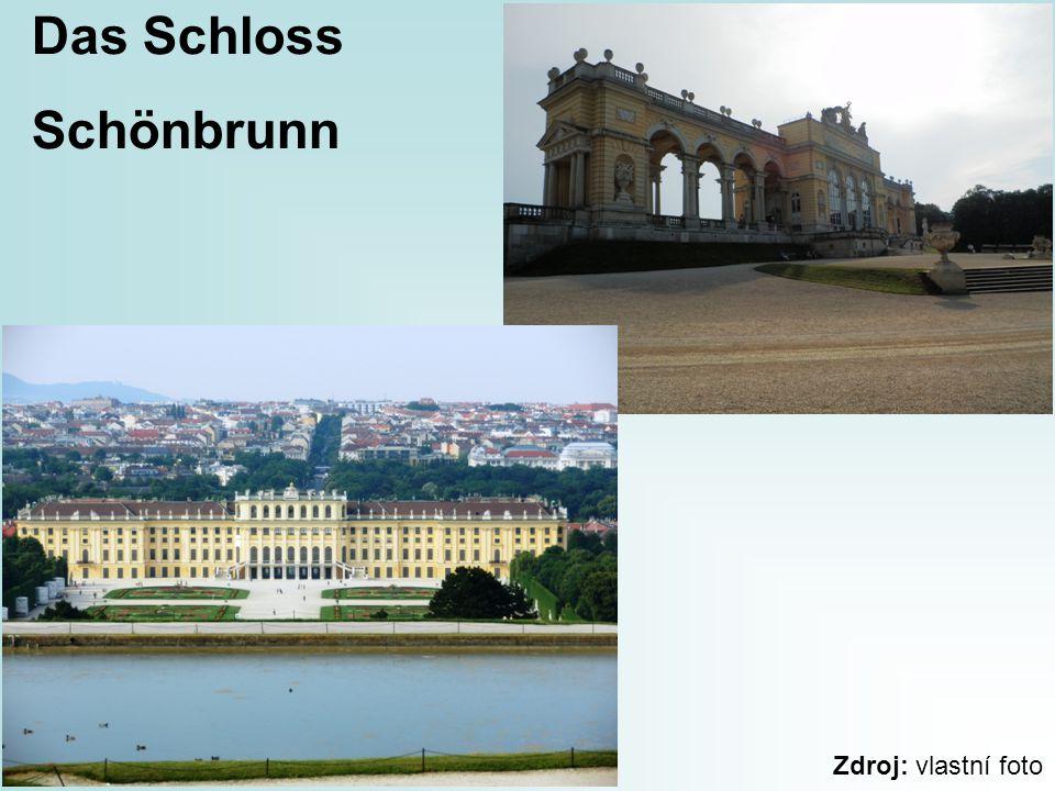 Das Schloss Schönbrunn Zdroj: vlastní foto
