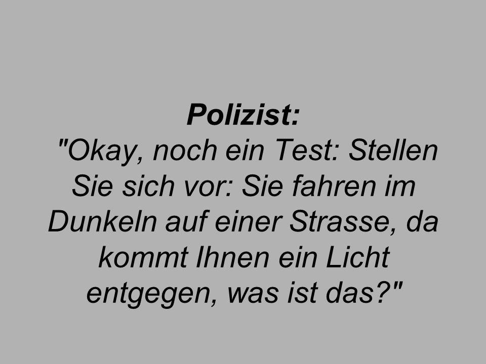 Polizist: