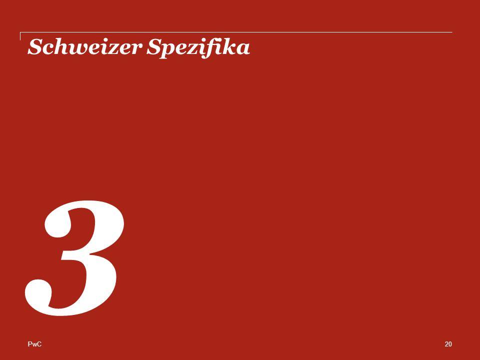 PwC Schweizer Spezifika 3 20