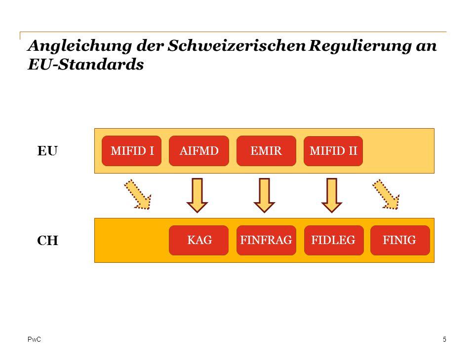 PwC Persönlicher Anwendungsbereich EMIR-Pflichtprüfung nach § 20 WpHG Gesellschaft mit satzungsmäßigem Sitz in Deutschland Kapitalgesellschaft (z.
