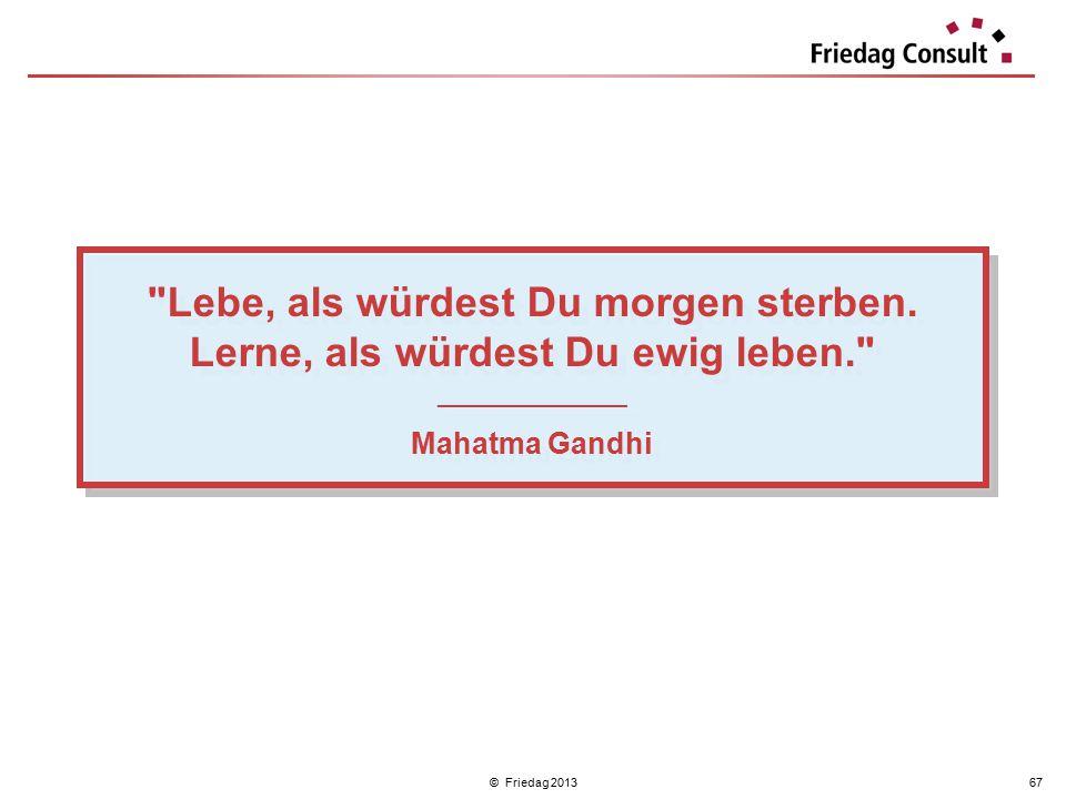 © Friedag 201367