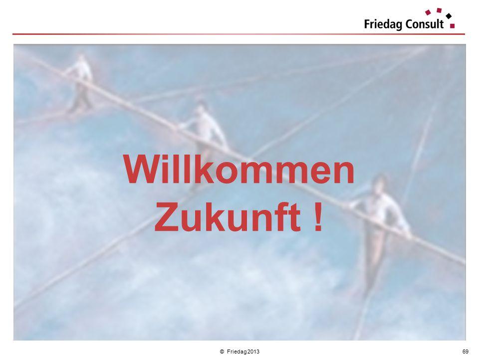 © Friedag 201369 Willkommen Zukunft !
