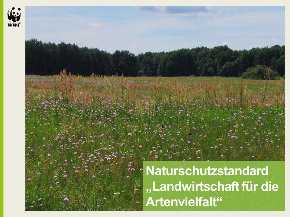 """Naturschutzstandard """"Landwirtschaft für die Artenvielfalt"""""""