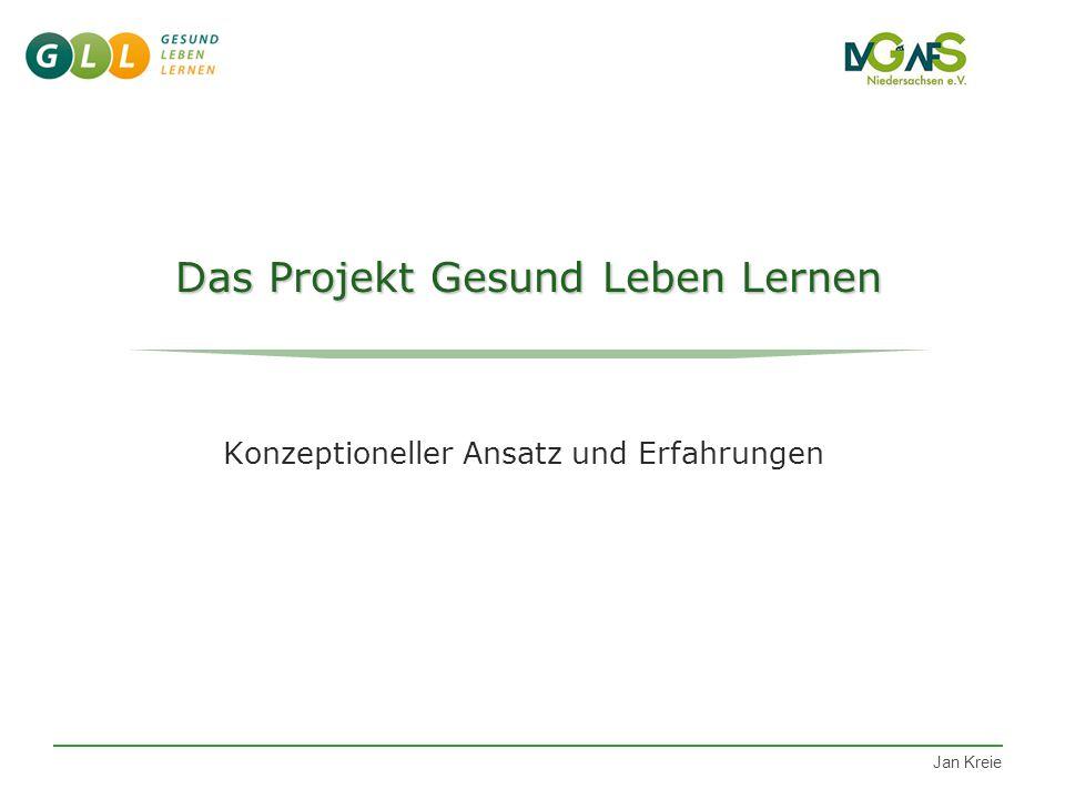 Jan Kreie Die Erfahrungen zeigen... Schüler- und Lehrergesundheit beeinflussen sich gegenseitig.