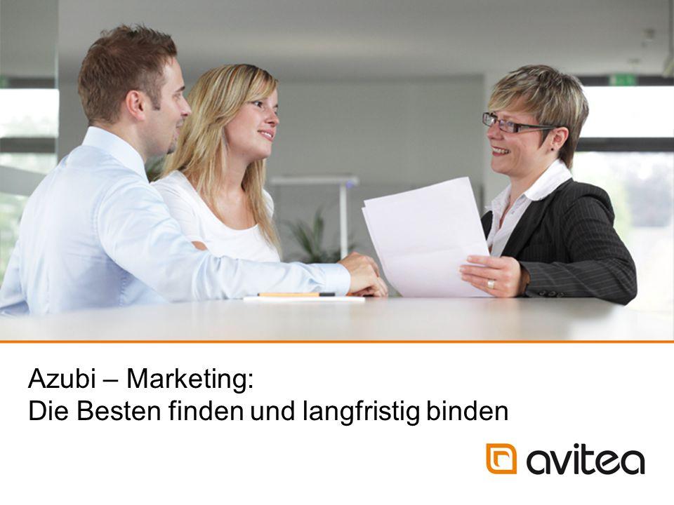 Azubi – Marketing: Die Besten finden und langfristig binden 24.02.2015 Folie 12 Aufgabe: Abfrage des Interesses und der Motivation am Ausbildungsberuf.