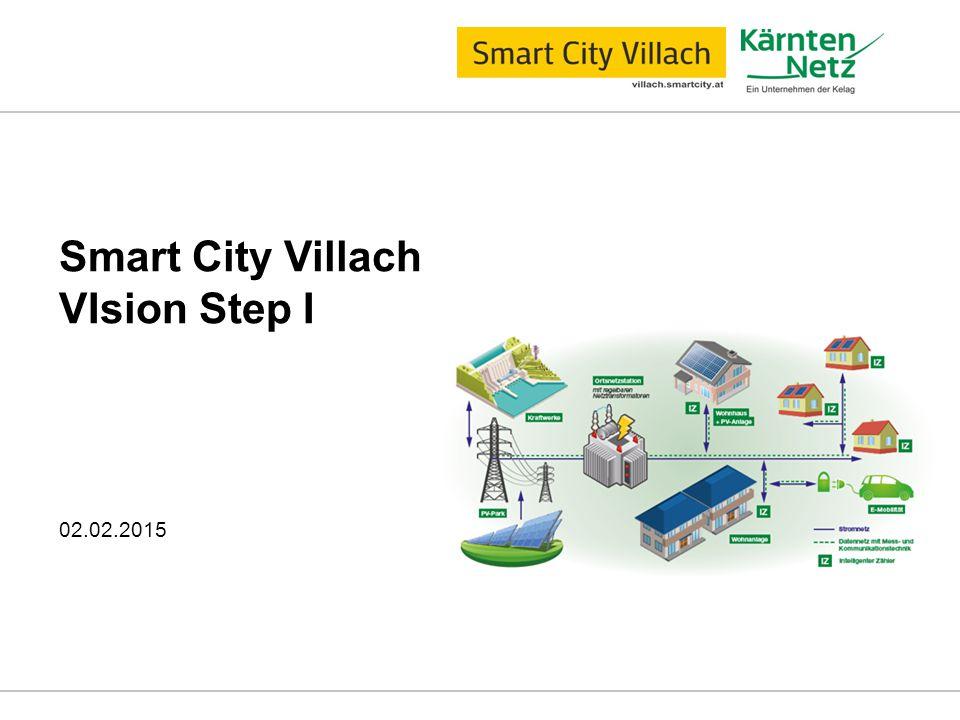 Smart City Villach VIsion Step I 02.02.2015