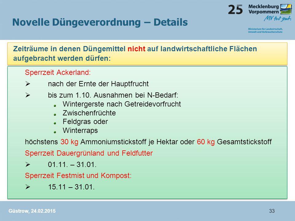 Sperrzeit Ackerland:  nach der Ernte der Hauptfrucht  bis zum 1.10.